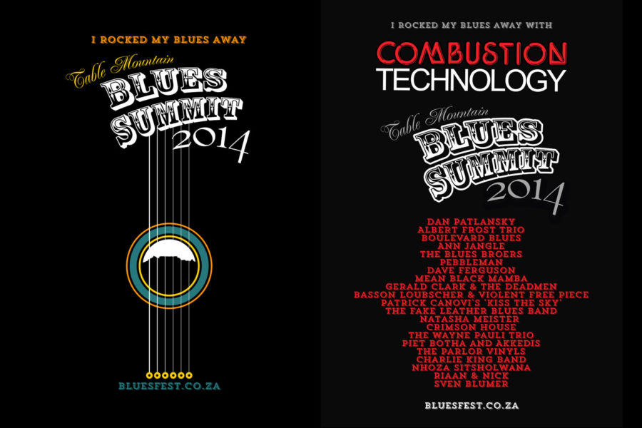 Blues Summit Artwork 2014