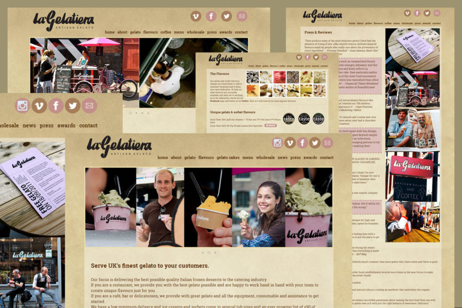 LaGelatiera – Web Development