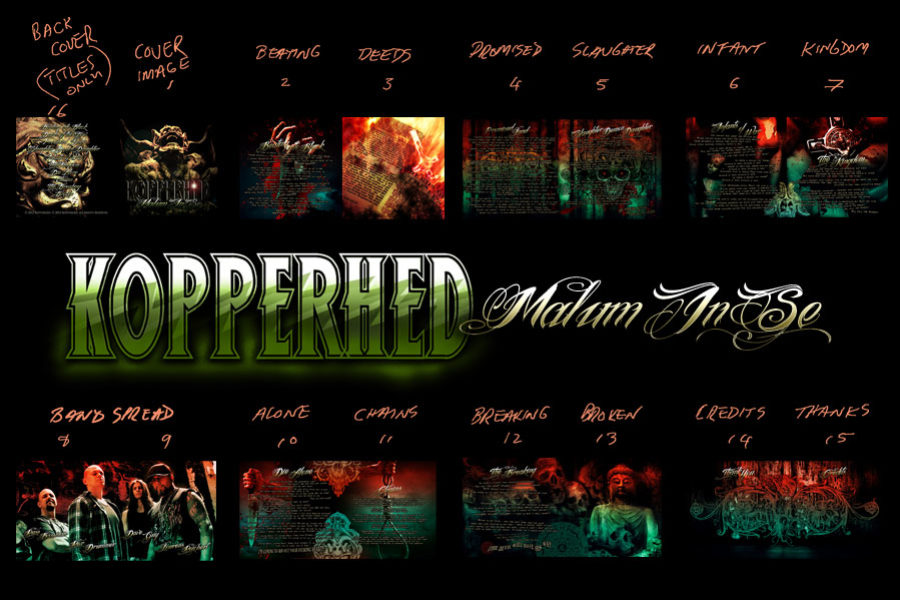 Band Artwork – Kopperhed